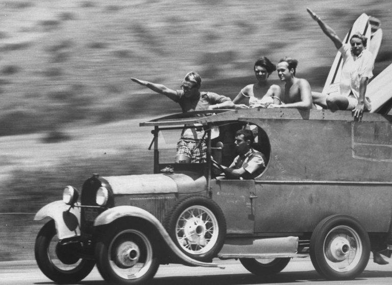 NYT nazi surfers photograph