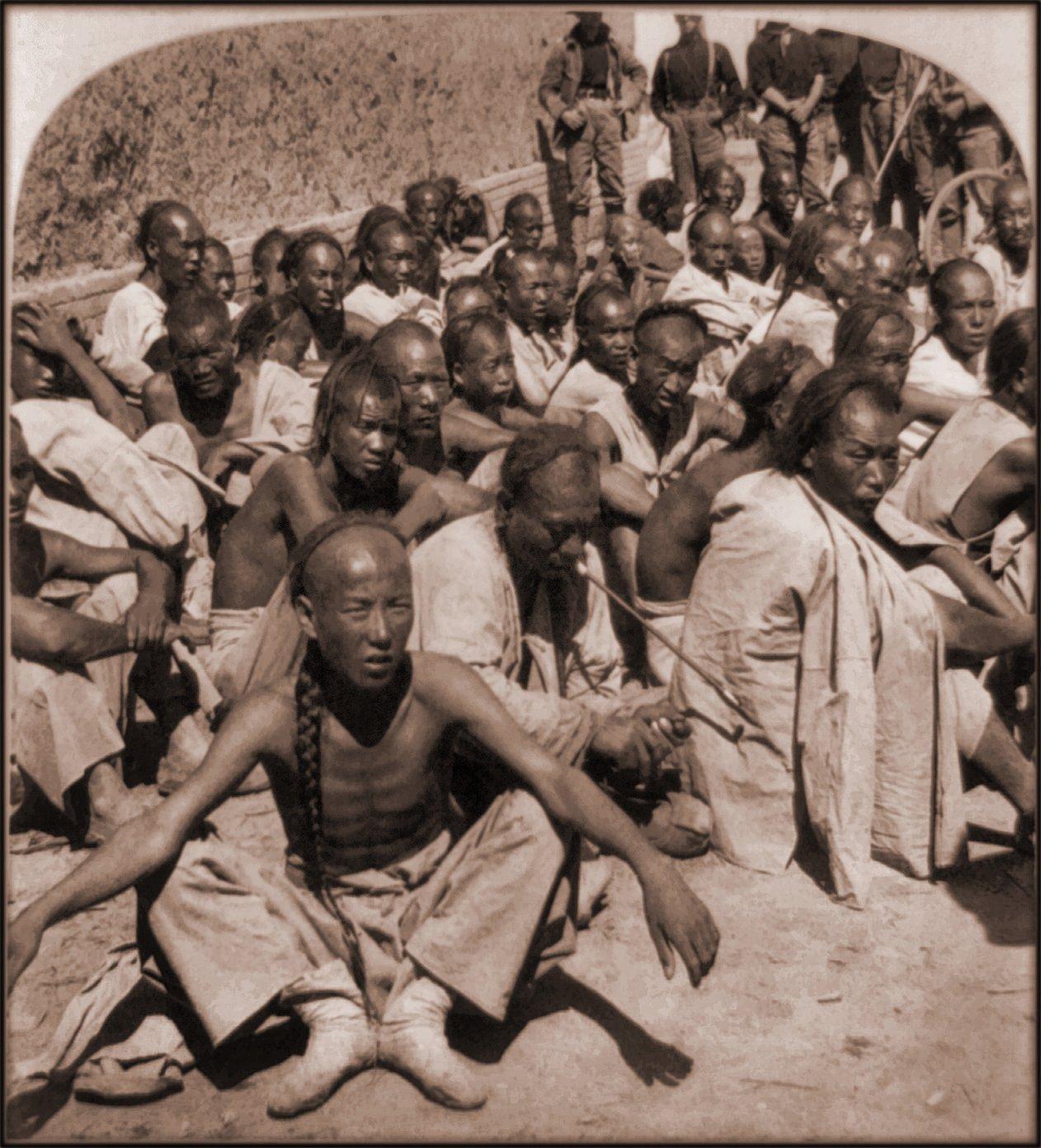 Chinese civilians captured 1901